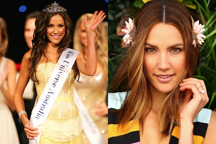 <strong>Rachael Finch</strong><br> Finch was Miss Universe Australia in 2009.