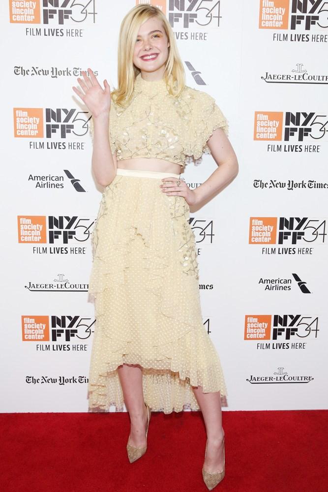Elle Fanning hit the red carpet in Rodarte, for the New York premiere of her upcoming film<em> 20th Century Women</em>.