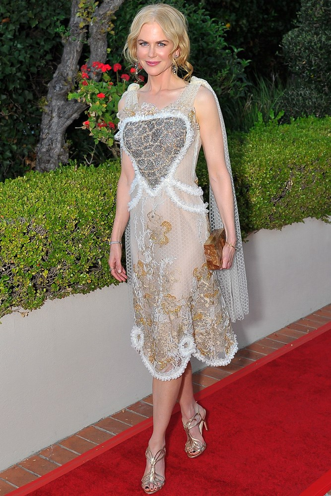 Nicole Kidman wore Rodarte to accept an award at the Mill Valley Film Festival in California.