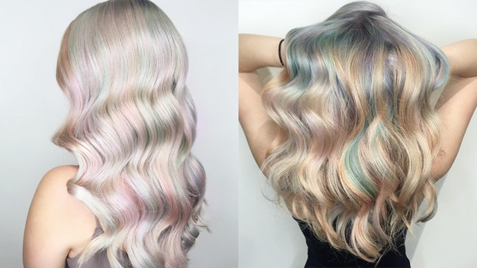 "<p> OPAL<p> <p> This barely-there pastel reworking of 'rainbow hair' is the more low-key way to do coloured hair.<p> <p> Images via <a href=""https://www.instagram.com/shelleygregoryhair/"">@shelleygregoryhair</a>."