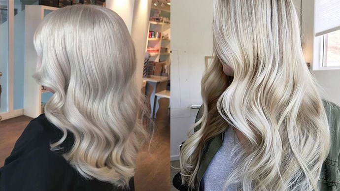 "<p> ICE BLONDE<p> <p> Take a leaf out of Khaleesi's book (or else, Jennifer Lawrence's) and go icey blonde with this silver-cum-blonde look.<p> <p> Image via <a href=""https://www.instagram.com/gossipsincetoday/"">@gossipsincetoday</a> and <a href=""https://www.instagram.com/spraytans__perripaige/"">@spraytans__perripaige</a>."