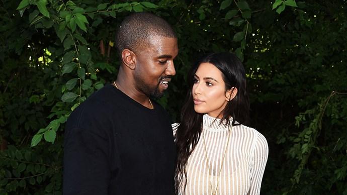 Kim Karashian And Kanye West