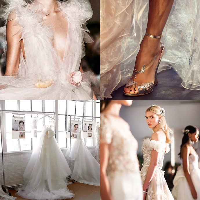 """<a href=""""https://www.instagram.com/marchesafashion/?hl=en"""">@marchesafashion</a> <br><br> The official account of luxury fashion house Marchesa mixes runway looks with breathtaking details to inspire your own look."""