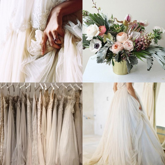 """<a href=""""https://www.instagram.com/samuellecouture/"""">@samuellecouture</a><br><br> This bridal label's Instagram is full of inspiration for the classic bride."""