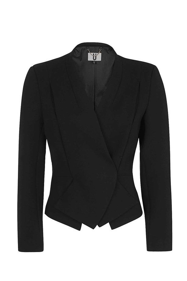 "<a href=""http://www.topshop.com/en/tsuk/product/clothing-427/unique-4455342/farley-blazer-by-unique-5899546?bi=0&ps=20"">Blazer, $439, Topshop.</a>"