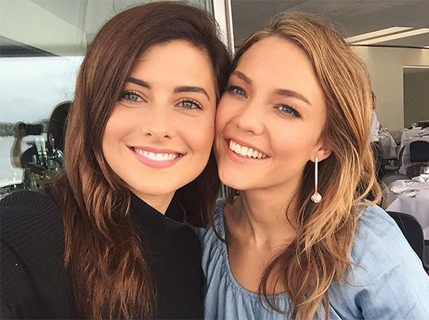 """<p>Sarah Amey from <em>The Bachelor</em> 2013 (season one!) and Sam Frost were housemates for a year in Sydney after Sam's season of <em>The Bachelor</em> 2014 ended. (Sarah also briefly dated Dave Billsborrow.) <p><a href=""""https://www.instagram.com/p/BDxNW1HI6P8/"""">Instagram.com/sarahmaelouise</a>"""