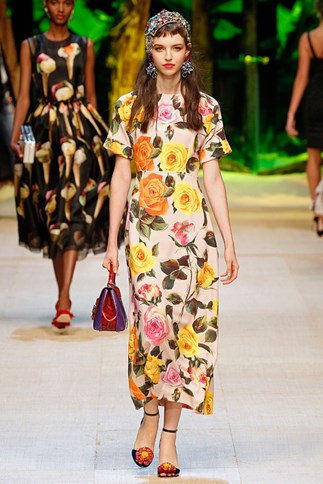 Dolce and Gabbana Spring 2017.