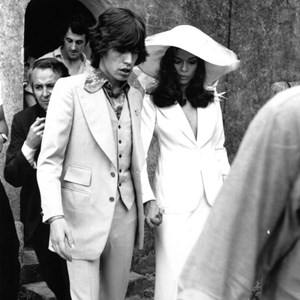 MICK JAGGER BIANCA JAGGER WEDDING