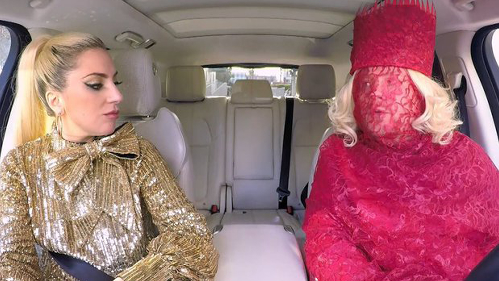 Lady Gaga is the queen of Carpool Karaoke