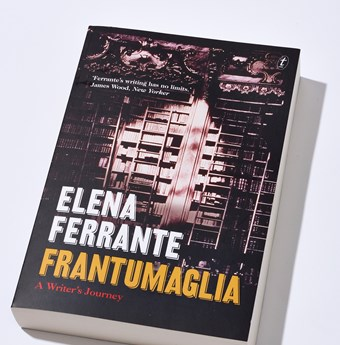 Frantumaglia ELLE book club book of the month Elena Ferrante