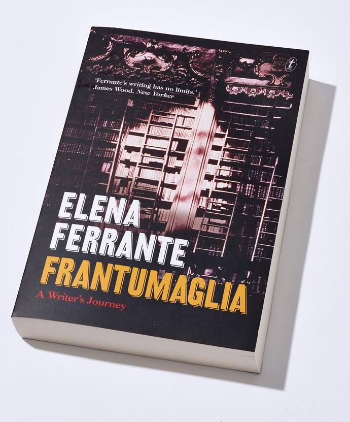 Frantumaglia ELLE book club book of the month Elena Ferrante