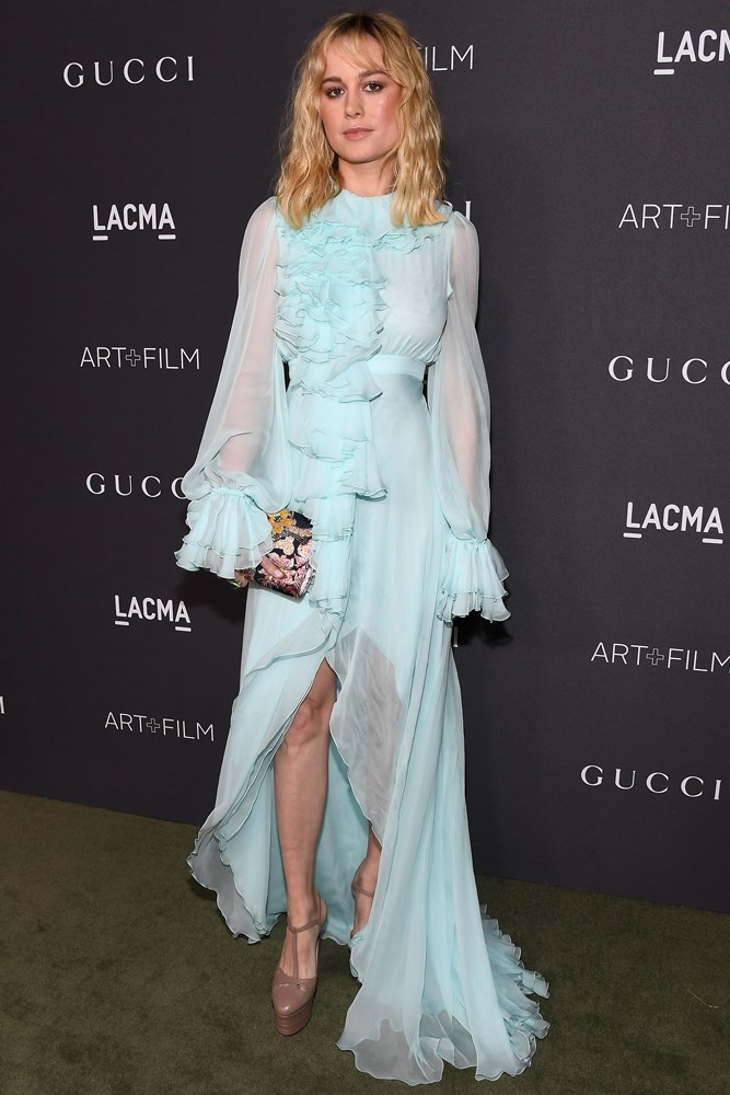Brie Larson at the LACMA Art + Film Gala, presented by Gucci.