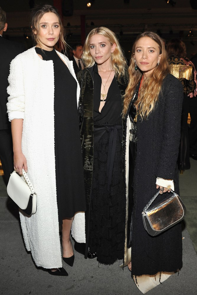 Elizabeth, Ashley and Mary-Kate Olsen at the LACMA Art + Film Gala, presented by Gucci.
