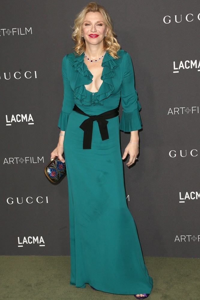 Madonna at the LACMA Art + Film Gala, presented by Gucci.