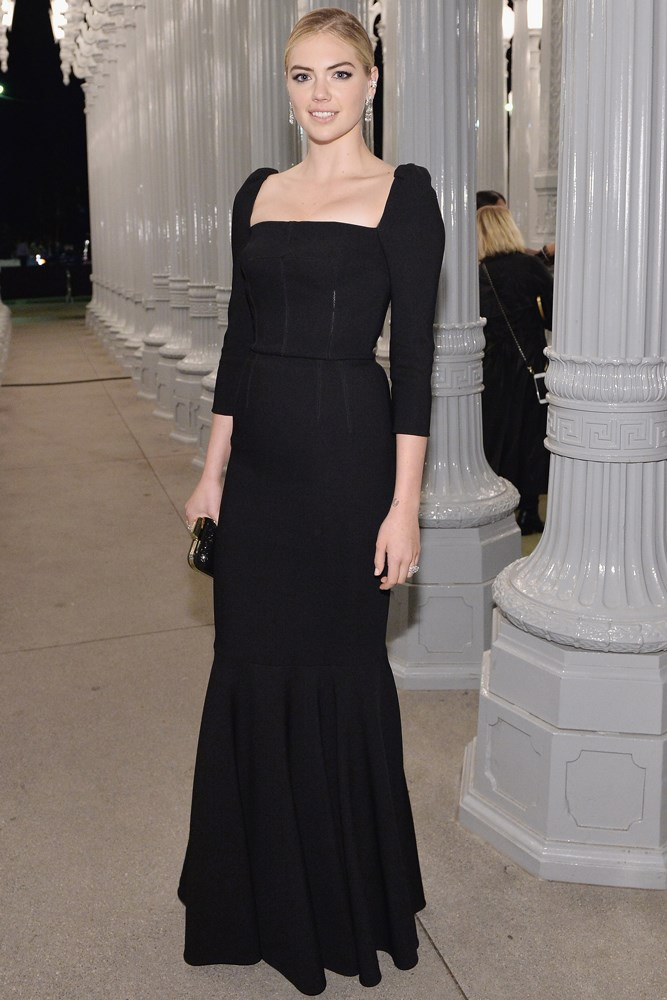 Kate Upton at the LACMA Art + Film Gala, presented by Gucci.