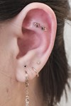 Constellation Ear Piercings Trend