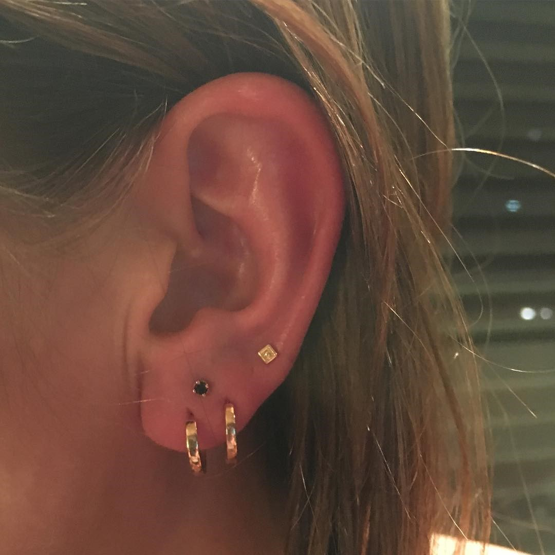 """<p>The hottest ear piercing trend of the moment is the 'constellation piercing.' See all the different ways you can tap into this trend here. <p><a href=""""https://www.instagram.com/p/-czYnMSEPN/"""" target=""""_blank"""">Instagram.com/bodyelectrictattoo</a>"""