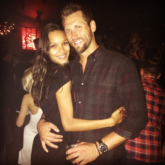 Jared Homan, boyfriend of Lais Ribeiro <br><br> Former NBA star Jared Homan scored a slam dunk with his gorgeous girlfriend. Although we're unsure of the date they became official, the pair often share cute couple pictures on their respective Instagram accounts.