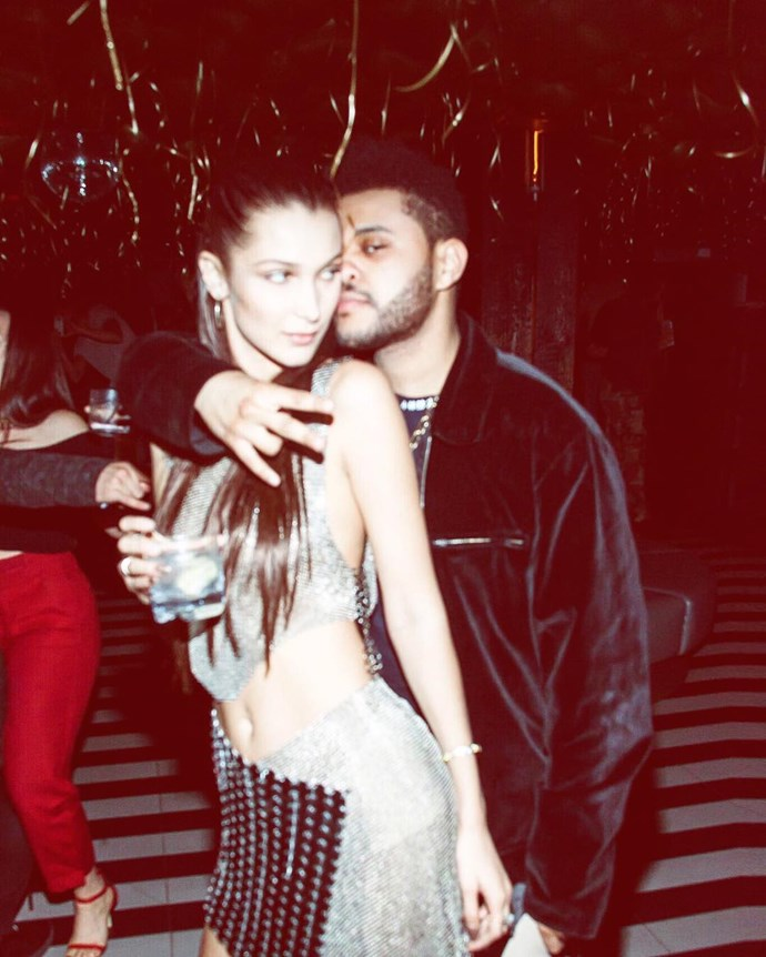 The Weeknd, boyfriend of Bella Hadid <br><Br> Singer The Weeknd, real name Abel Tesfaye, has been with Victoria's Secret newbie Bella Hadid since 2015 #couplegoals.