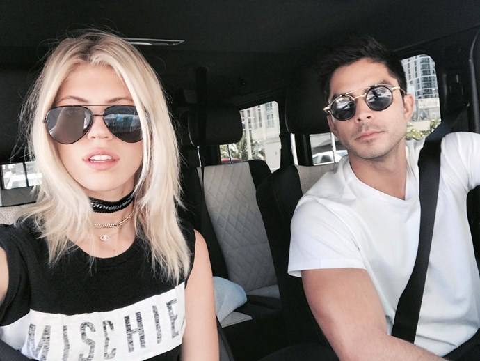 Johnny Dex, Boyfriend of Devon Windsor <br><Br> The pair got together earlier this year, and although we'd like to know more about the stunning blonde's beau, Dex likes to keep out of the spotlight, with a private Instagram account and little online presence.