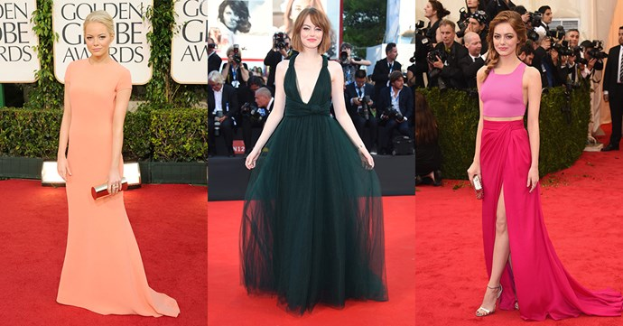 <p>See over 50 of Emma Stone's best red carpet looks over the years.
