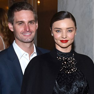 miranda kerr evan spiegel engagement party