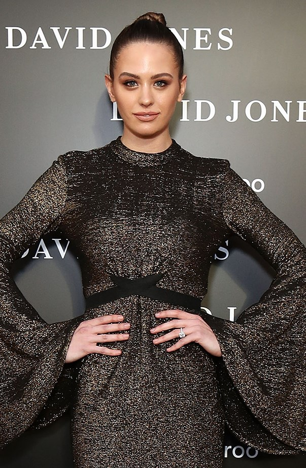 """<p><strong>Jesinta Franklin</strong> <p>The first clue <a href=""""http://www.elle.com.au/news/celebrity-news/2016/11/how-jesinta-and-buddy-franklin-pulled-off-secret-wedding/"""">Jesinta had gotten hitched</a> was when she changed her Instagram handle from @jesinta_campbell to @jesinta_franklin the morning after her wedding. She hasn't done any media commitments since marrying Buddy Franklin to confirm she'll be known as Jesinta Franklin from now on, but it certainly seems like she's taken his name."""