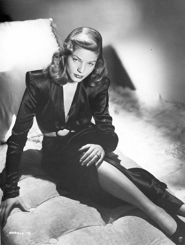 Lauren Bacall, 1943.