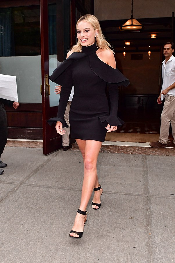 <p> <strong>Margot Robbie</strong><p> <p> The fashion girl's guide to cut-outs: Keep them simple and tasteful, and keep everything else at a minimum. Margot nails it in Elie Saab.