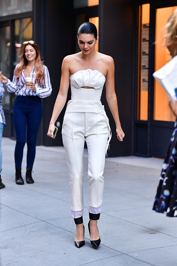 <p> <strong>Kendall Jenner</strong><p> <p> Repeat after us: Jumpsuits are your friend. When they're fitted, flattering-as-hell and paired with a killer pair of pumps, that is.