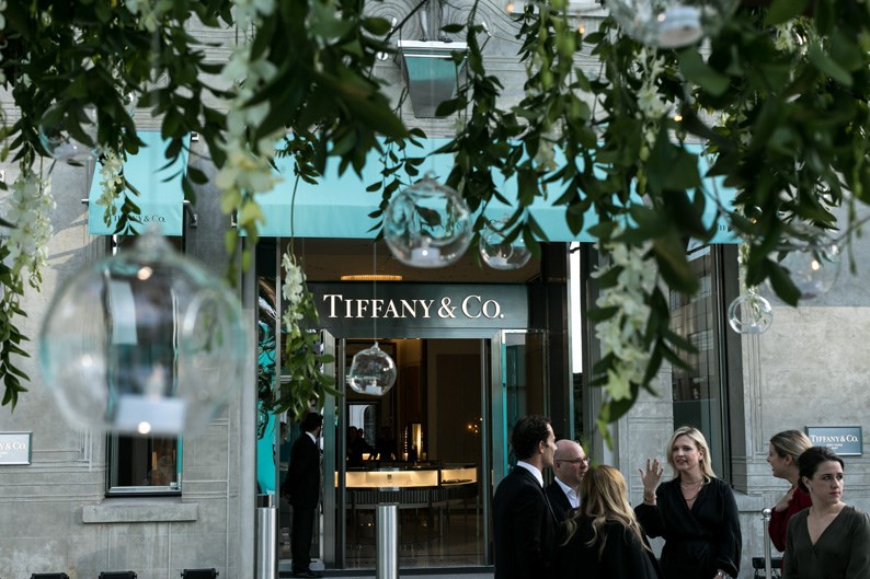 See inside Tiffany & Co.'s exclusive New Zealand launch party.