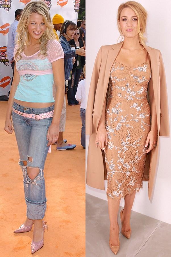 Blake Lively Celebrity Style Transformation