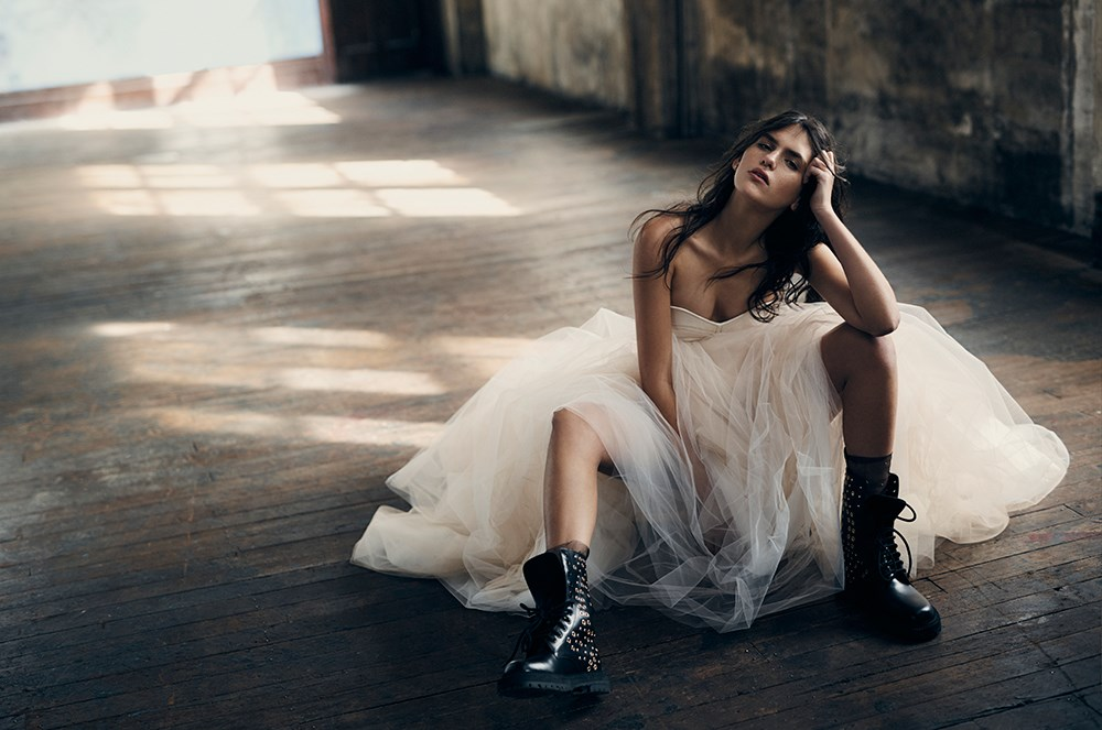 <p>Prepare to have your breath taken away by Sabine's full editorial shoot for <em>ELLE</em>, which you can see right here, right now. <p>Bustier, $1,826, Victoria Beckham, victoriabeckham.com; skirt, $5,000, Steven Khalil, stevenkhalil.com; socks, $143, Pan & The Dream, panandthedream.com (worn throughout); boots, $1,895, Burberry, au.burberry.com (worn throughout); earring in model's right ear (worn throughout), $1,295, earring in model's left ear (worn throughout), $1,500, ring, $3,900, all Alinka, alinkajewellery.com.