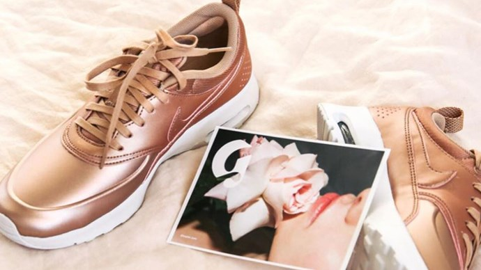 Rose Gold Nike Sneakers Australia