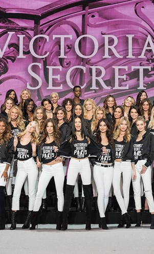 Victoria's Secret Models 2016 Paris