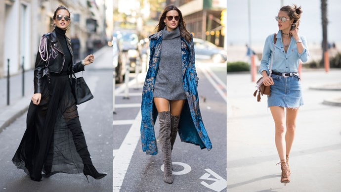A round up of Victoria's Secret Angel, Alessandra Ambrosio's, best style moments.