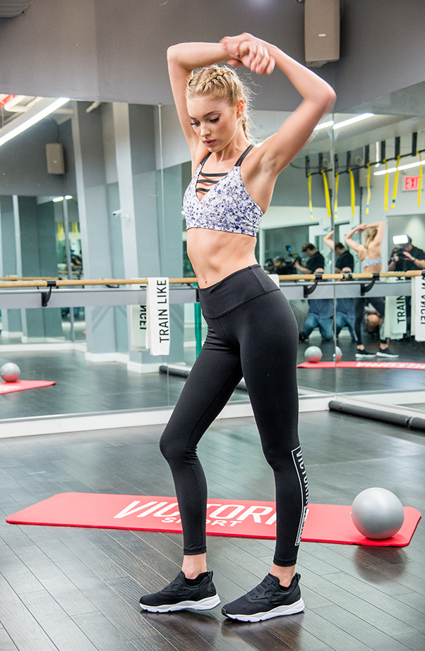 Elsa Hosk Victorias Secret Butt Workout