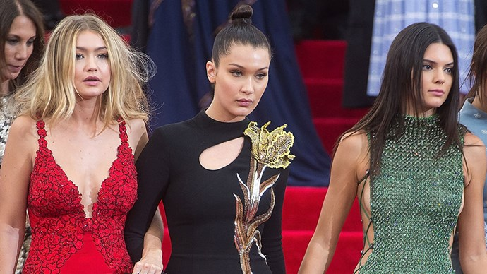 Kendall Jenner, Gigi and Bella Hadid