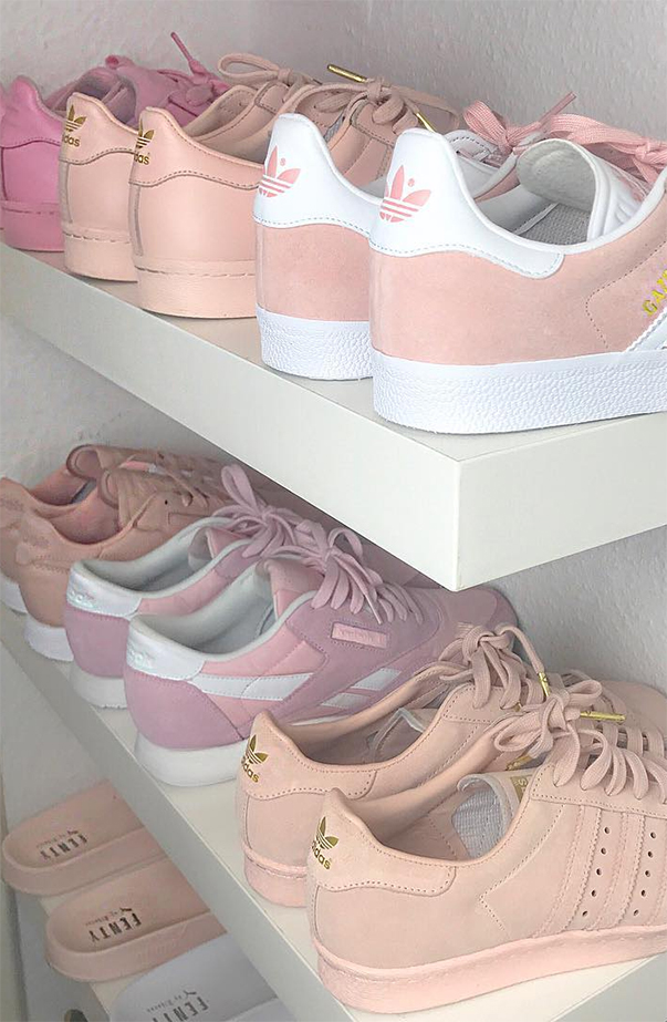 Neutral Blush Toned Sneakers To Shop