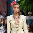 Of Course Cara Delevingne Returned To The Runway For Her Numero Uno Designer image