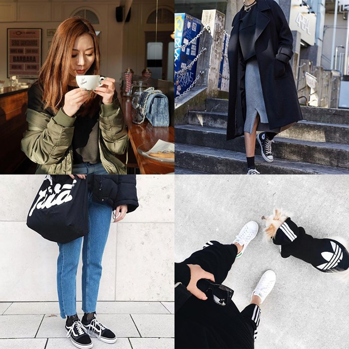 "<p><strong>POPBEE</strong> <p>This Hong Kong-based account sits on the girlier side of the tomboy fence, but still features looks you'll want to steal. <p><a href=""https://www.instagram.com/popbee/"">Instagram.com/popbee</a>"
