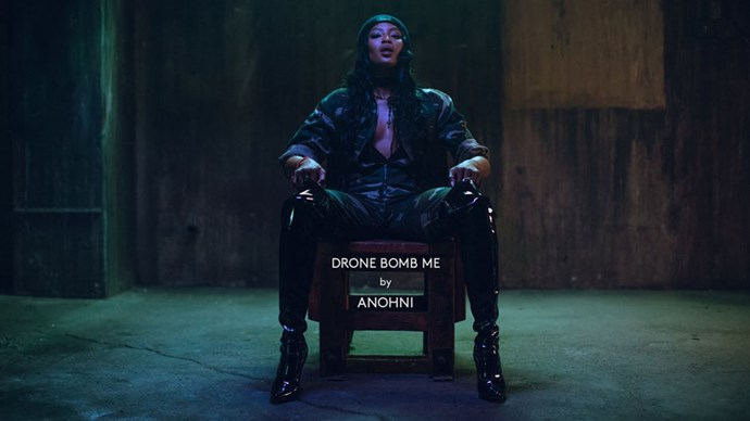 "<a href=""https://www.youtube.com/watch?v=aUEoic7ro_o""><strong>""Drone Bomb Me,"" ANOHNI</strong></a> <br><br> Protest music has been historically associated with folk strums from the likes of Bob Dylan and Joan Baez. But through bleeps, bloops, and her penchant for the theatrical, ANOHNI is rewriting the score. Look no further than the buoyant swells of ""Drone Bomb Me"" for a visceral example of how dancing really can inspire a revolution."