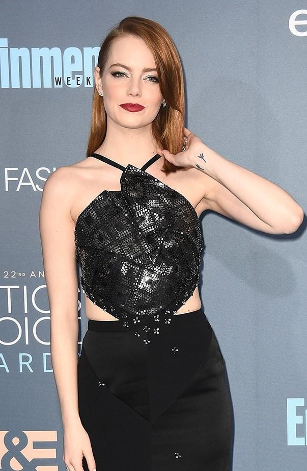 Emma Stone 2016 Critics Choice Awards