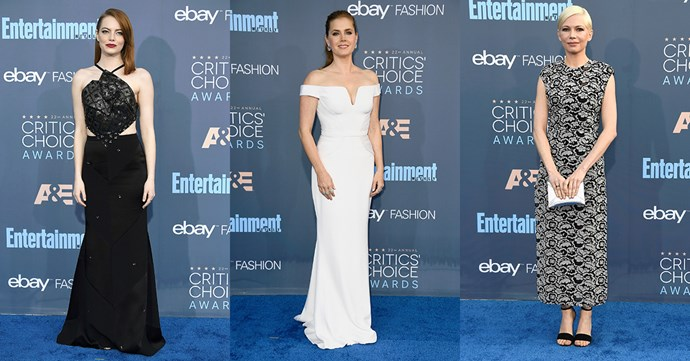 <p>Continue through for all the best celebrity looks from the 2016 Critics' Choice Awards red carpet.