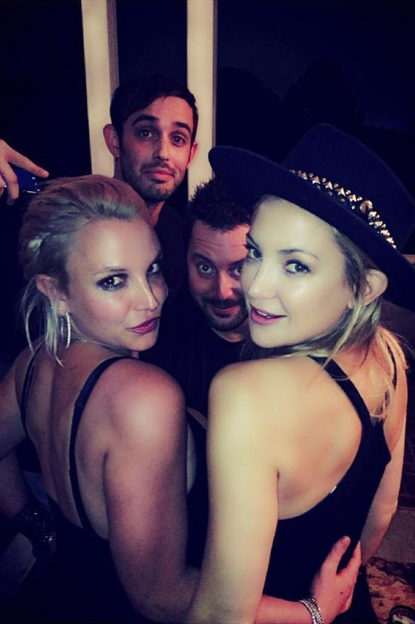 <p><strong>Britney Spears and Kate Hudson</strong> <p>#ItsBritneyBitch friends.