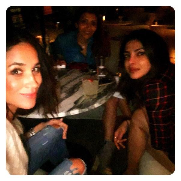 "<p><strong>Meghan Markle and Priyanka Chopra</strong> <p>""Girls just wanna have fun"" friends."