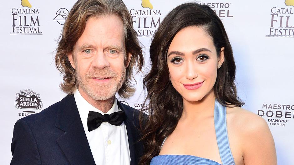 William H Macy Backs Emmy Rossum's 'Shameless' Pay Gap Bid