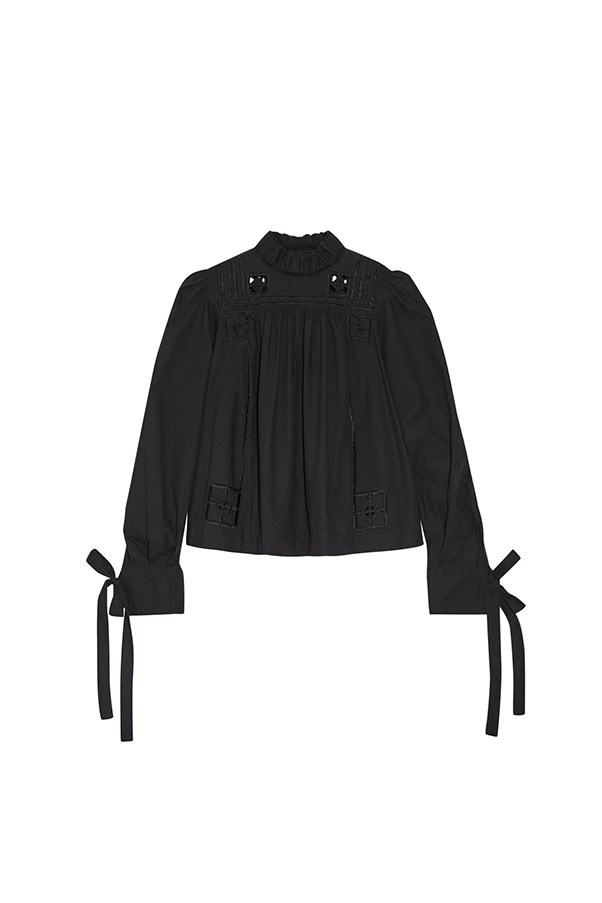 "Isabel Marant blouse, was $715, now $429, <a href=""https://www.net-a-porter.com/au/en/product/730263/isabel_marant/skara-broderie-anglaise-trimmed-cotton-poplin-blouse"">Net-a-Porter</a>"