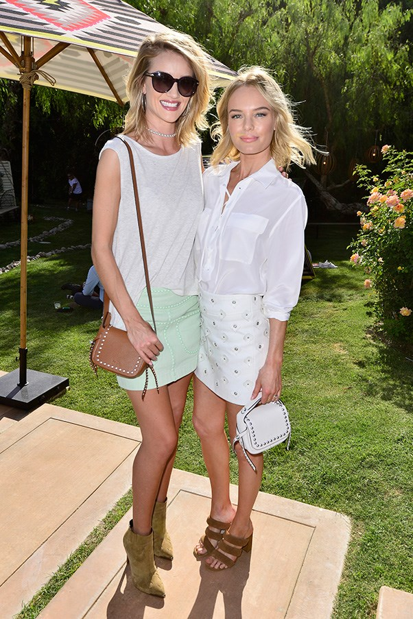 Rosie Huntington Whiteley and Kate Bosworth