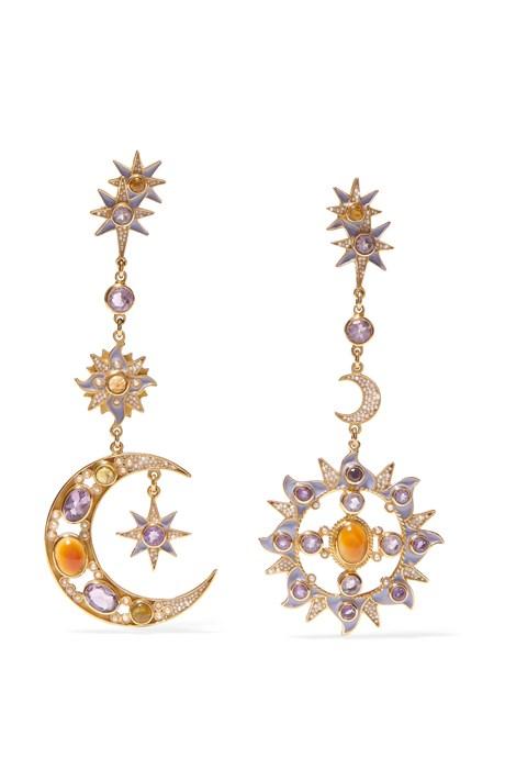 """<p>Gold-Plated Multi-Stone Earrings, $1,585, <a href=""""https://www.net-a-porter.com/au/en/product/817895/percossi_papi/gold-plated-multi-stone-earrings"""" target=""""_blank"""">Percossi Papi at net-a-porter.com</a>."""